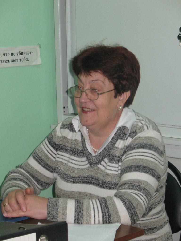 Сорокопуд Нина Григорьевна. Заместитель директора.